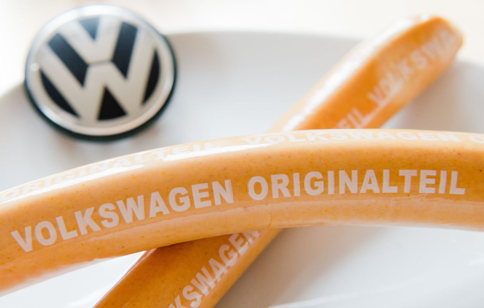 Currywürste von Volkswagen