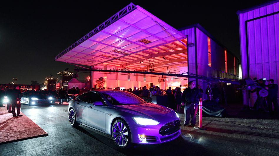 Tesla-Aktien gefragt wie nie: Anleger trauen dem Unternehmen viel zu