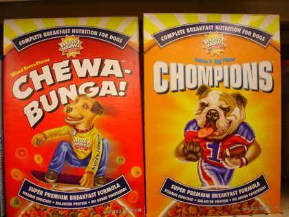"""Trend """"Schrille Sachen"""": Bow wow! Breakfast Nutrition - Müsli für Hunde"""