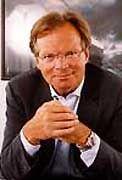 Überraschungscoup gelungen: Werner E. Klatten.