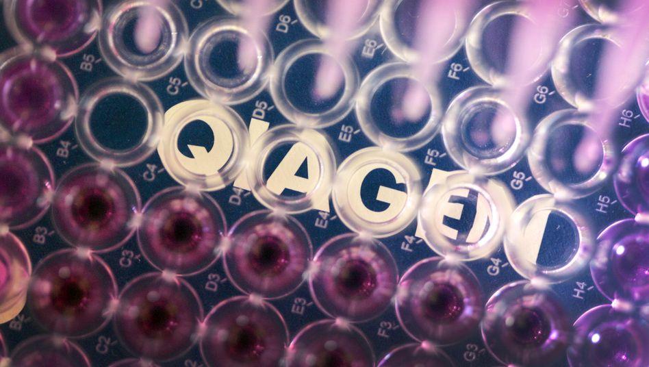 Eher eine Fusion unter Gleichen: Qiagen ist derzeit an der Börse etwas mehr als wert als Quidel