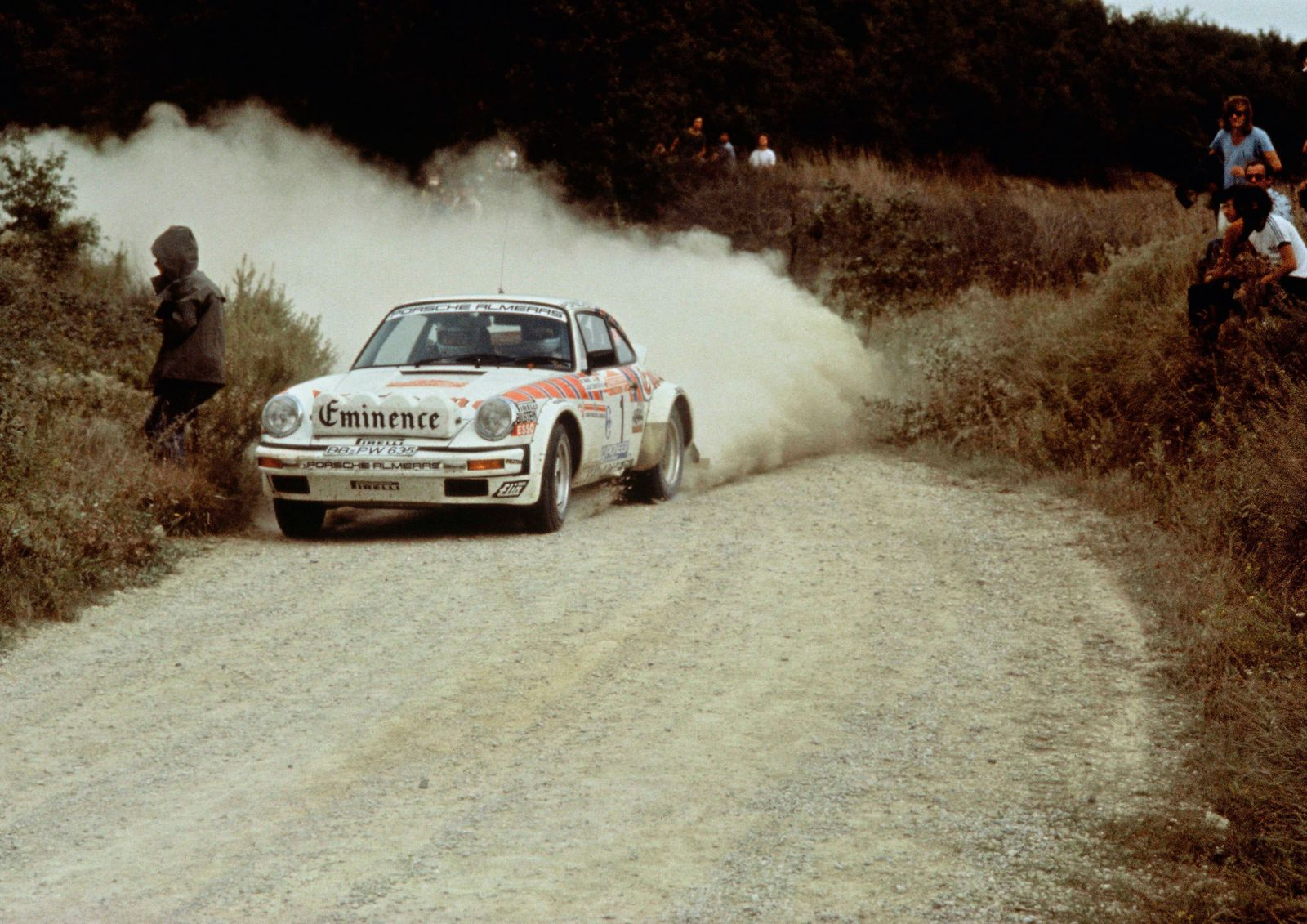 Auto / Werbung / Porsche / Walter Röhrl