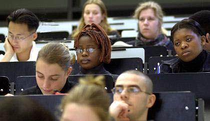 Kein seltenes Bild: An einigen Unis kommen 20 Prozent der Studierenden aus dem Ausland