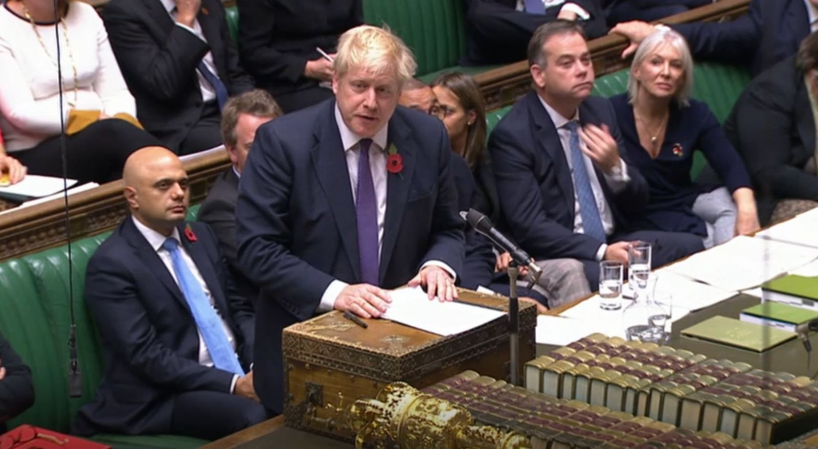 Brexit/ JBoris Johnson/ House of Commons