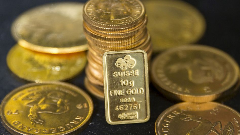 Gold: Der Goldpreis ist auf ein Sechsjahreshoch gestiegen