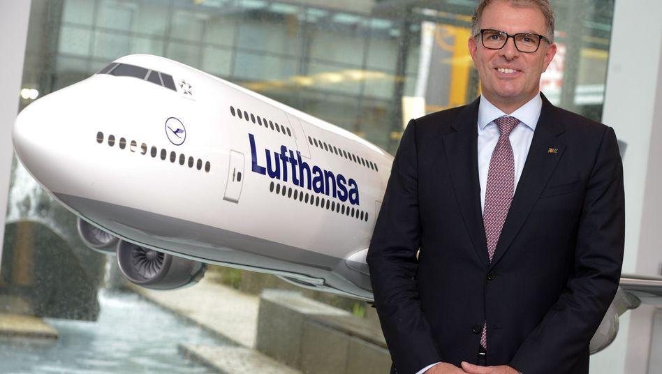 """Lufthansa-Chef Spohr: """"Mehr als 100 Flugzeuge"""" soll Eurowings haben"""