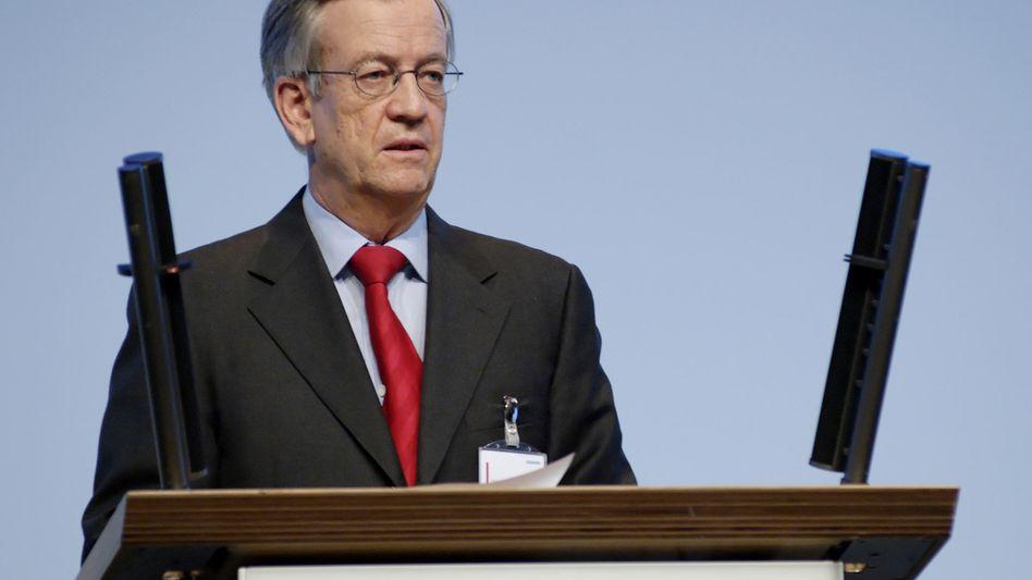 Der Mann, der mal Mr. Siemens war: Heinrich von Pierer, hier auf der Hauptversammlung des Dax-Konzerns 2007.
