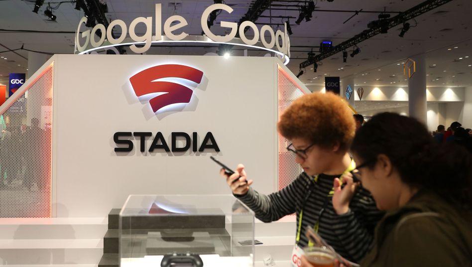 """""""Wir schauen auf Milliarden"""": Google verspricht sich viel von seinem Cloud-Spiele-Dienst Stadia. Hier können sich potenzielle Nutzer schon mal ein Bild machen"""