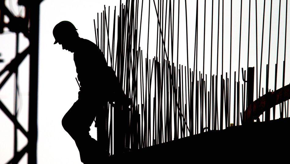 Boom am Bau: Eine günstigere Situation für das Experiment Mindestlohn könnte es kaum geben - doch schlechtere Zeiten werden kommen