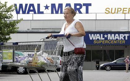 Anschub für den Dow: Positive Wal-Mart-Zahlen machen sogar schlechte Konjunkturnews wett