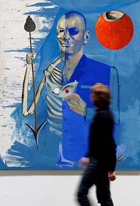 Ein Gemälde von Martin Kippenberger, einem favorisierten Maler von Friedrich Christian Flick