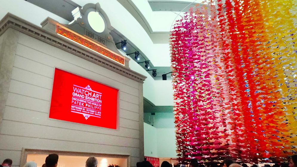 Patek Philippe in Singapur: Uhren-Show der Superlative