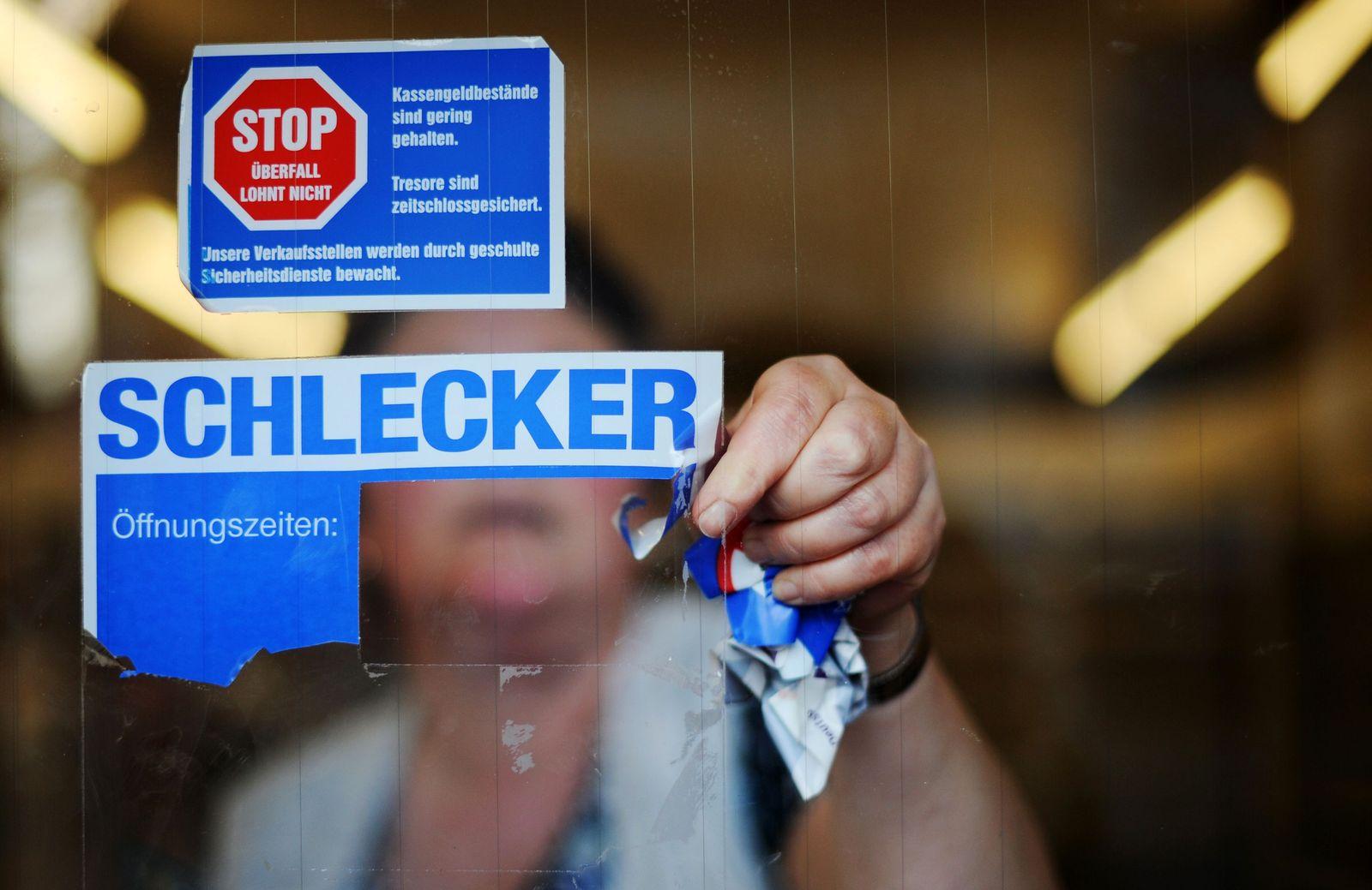 Schlecker / Filiale schliesst