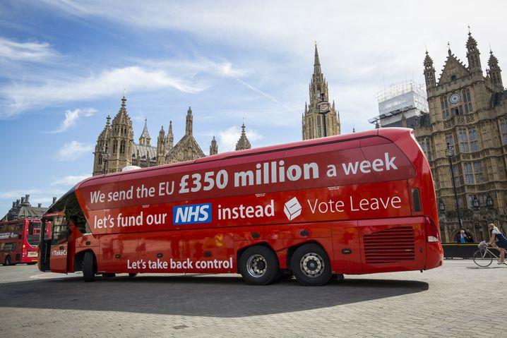 Brexit-Kampagne von Johnson, Farage und Co: Lügen, Lügen, Lügen