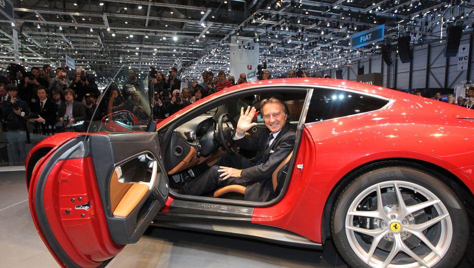 Ferrari-Chef Luca Cordero di Montezemolo: Mehr Exklusivität und mehr maßgeschneiderte Autos