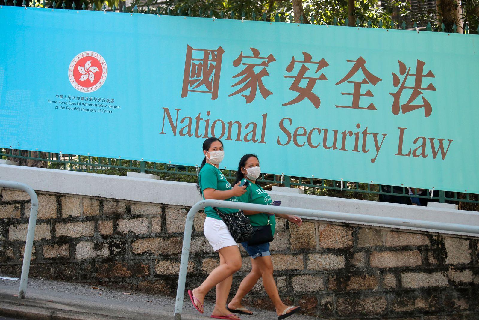 China drückt Sicherheitsgesetz für Hongkong durch
