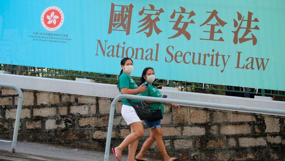 China: Xi unterzeichnet Sicherheitsgesetz für Hongkong