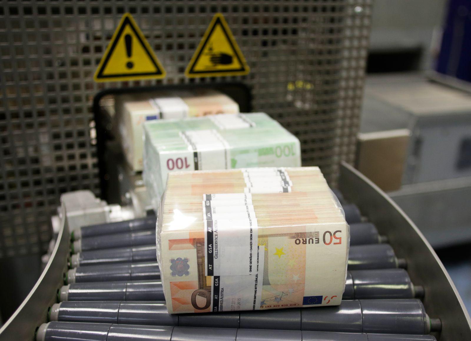 Euro-Scheine / Gelddrucken / Europa