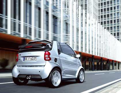 Im Glücksfall billig zu haben: Ein Smart Cabrio, wie es Quelle zur Sonderaktion anbieten könnte