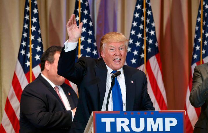 Teure Versprechen: Trump will den Staat um elf Billionen Dollar erleichtern - und zugleich die Ausgaben erhöhen
