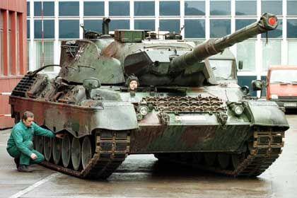 Der Kampfpanzer des Typs Leopard demnächst auch in Saudi Arabien?