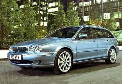 Raubkatze mit Buckel: Der neue Jaguar-Kombi X-Type Estate