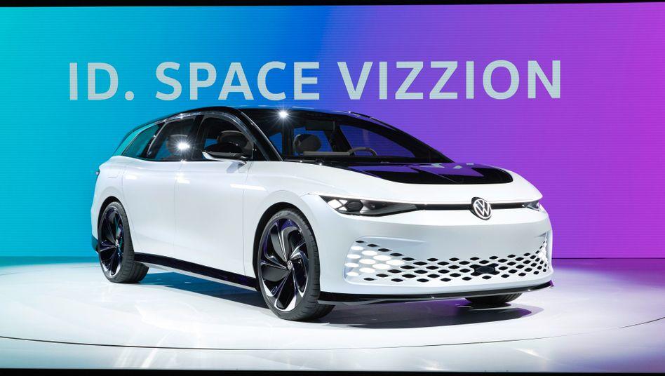 VW Elektrostudie ID Space Vizzion: Batteriepartner Northvolt stockt seine Investitionen auf