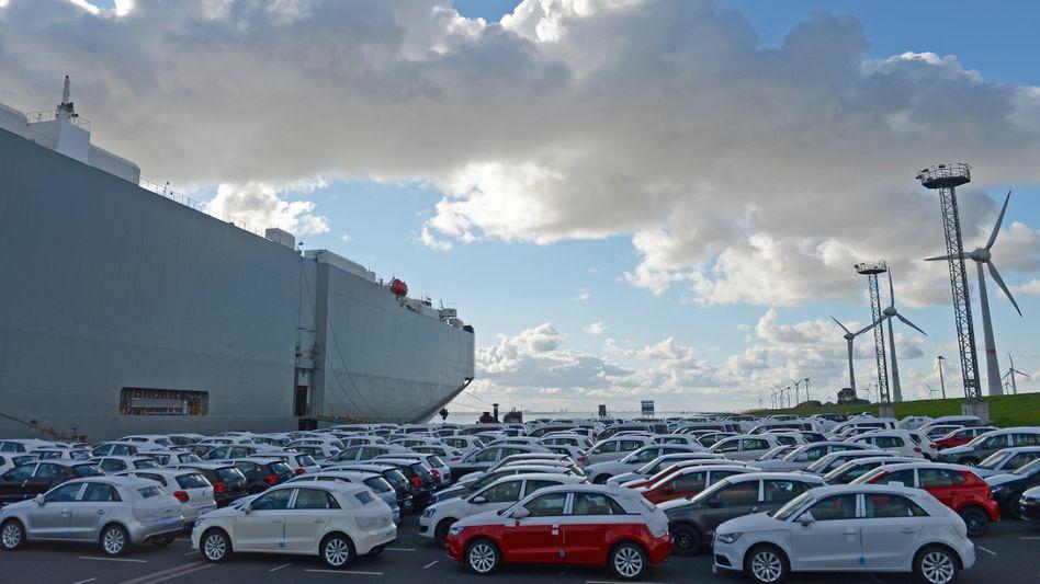 Weltweit gefragt: Autos von Volkswagen