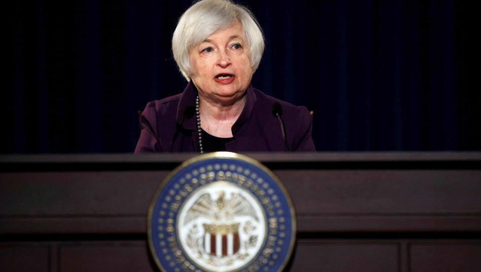 Fed-Chefin Yellen: Wer hat Recht - die Notenbanker oder der Markt?