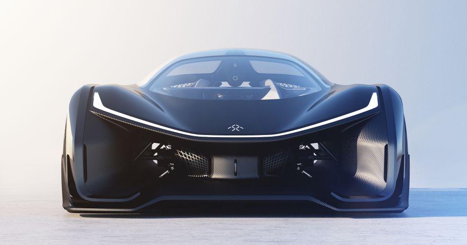 Konzeptauto FF1 von Faraday Future: Mehr Batmobil als Serienfahrzeug - dennoch sollte man das Startup ernst nehmen
