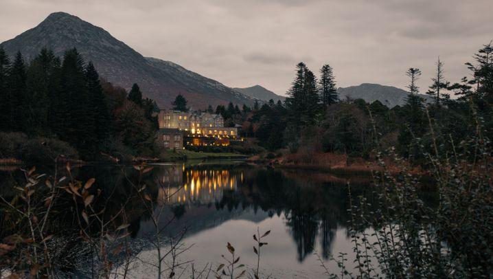 Ballynahinch Castle: Lachse satt