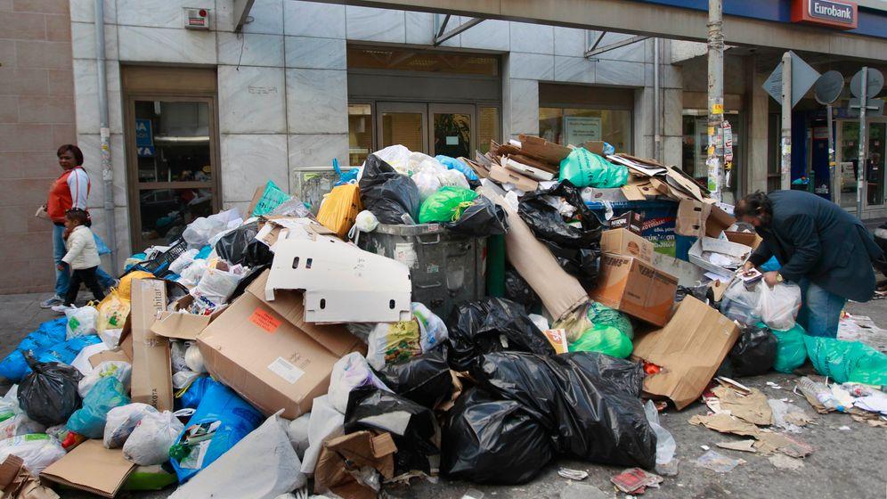 Athen: Müll auf der Straße, Wut bei den Bürgern