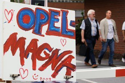 Hoffnungsträger: Opel freut sich auf Magna