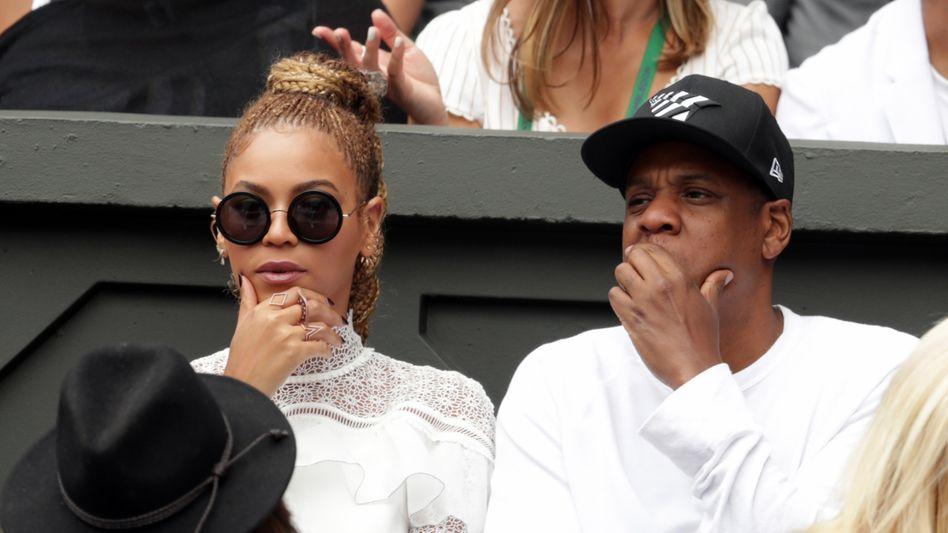 Jay-Z mit Ehefrau Beyonce (Archivaufnahme, 2016)