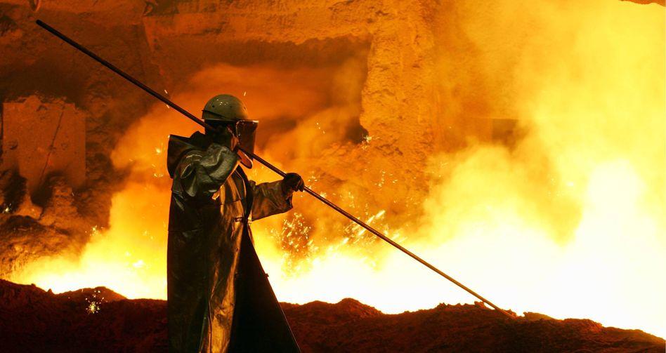 ThyssenKrupp unter Feuer: Trotz positiv eingeschätzter Jahreszahlen gab die Aktie nach
