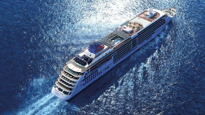 Auf Kreuzfahrt: Luxus auf dem Meer