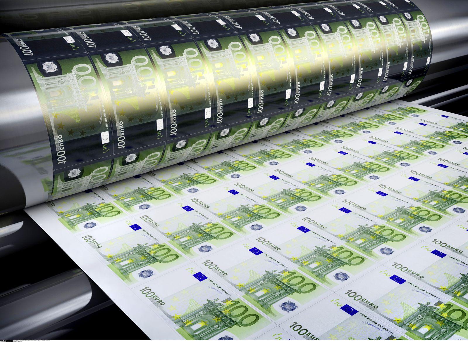 NICHT MEHR VERWENDEN! - Euro / Banknoten / Notenpresse