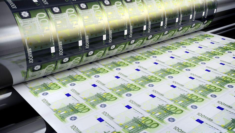 Billiges Geld: Die EZB kauft weiterhin Anleihen auf