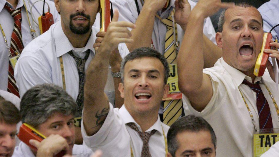 Wertpapierhändler in Brasilien: Kursschub dank der Dollar-Infusion der Notenbanken
