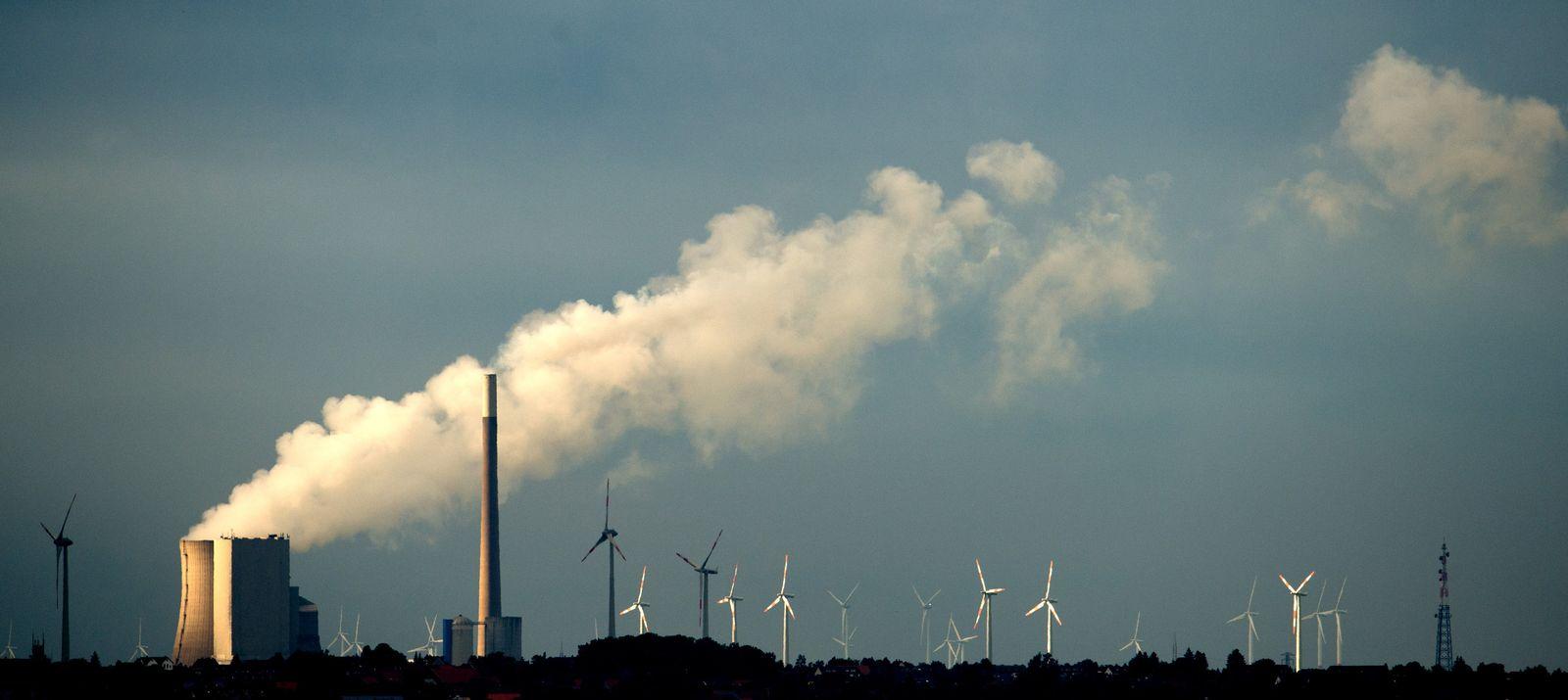 Kraftwerk Mehrum / Steinkohlekraftwerk / Windenergie
