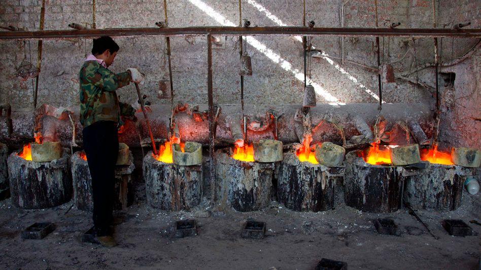 Seltene Erden: Rund 80 Prozent des für die High-Tech-Industrie wichtigen Grundstoffs kommen aus China