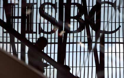 Gute Geschäfte: Trotz Problemen in den USA schrieb die HSBC 2006 Rekordgewinne