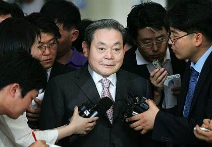 Keine Haft: Der einstige Samsung-Chef Lee Kun Hee