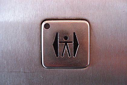 Ungesund: Warum den Aufzug nehmen, wenn es Treppen gibt?