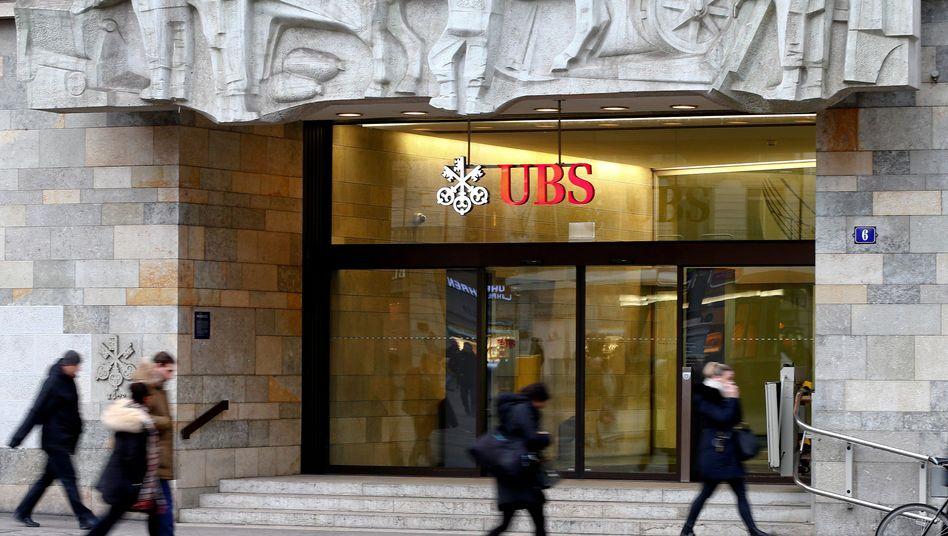 UBS-Filiale in Zürich
