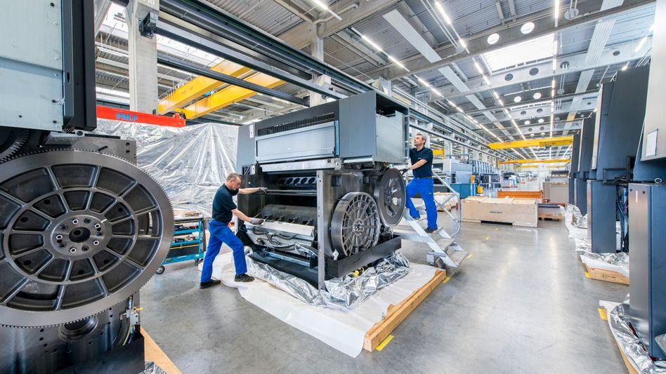 Maschinendeck: Das Unternehmen war einst Teil des deutschen Wirtschaftswunders