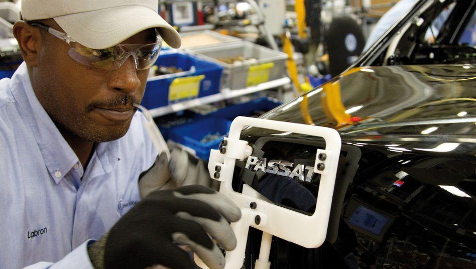 Passat-Produktion in Chattanooga: Volkswagen will auch künftig in den USA investieren