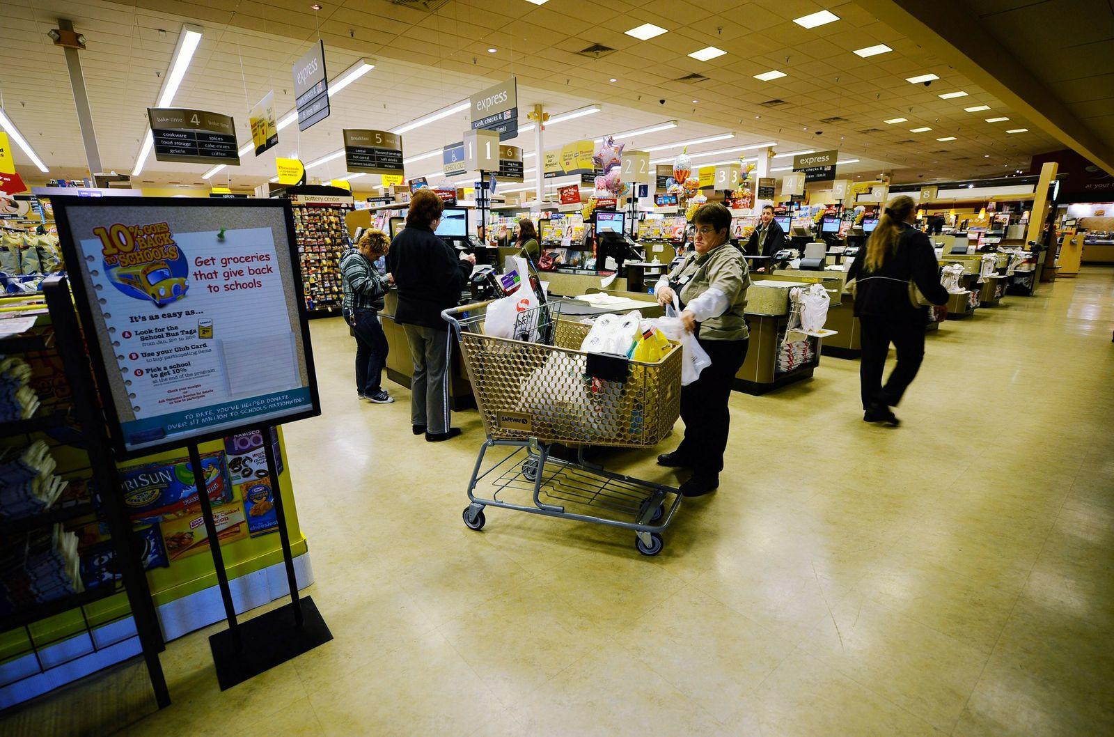 Safeway / Supermarkt / Nahrungsmittel / Einkaufen