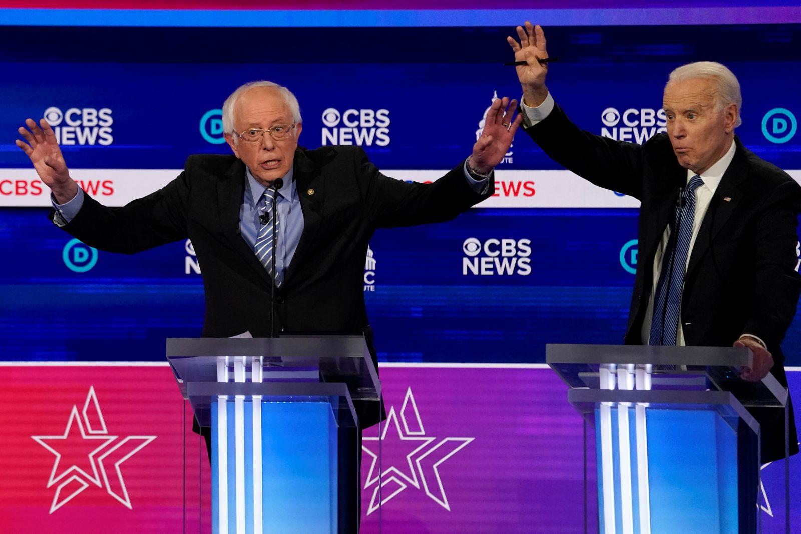 USA- Debatte zu US-Vorwahlen