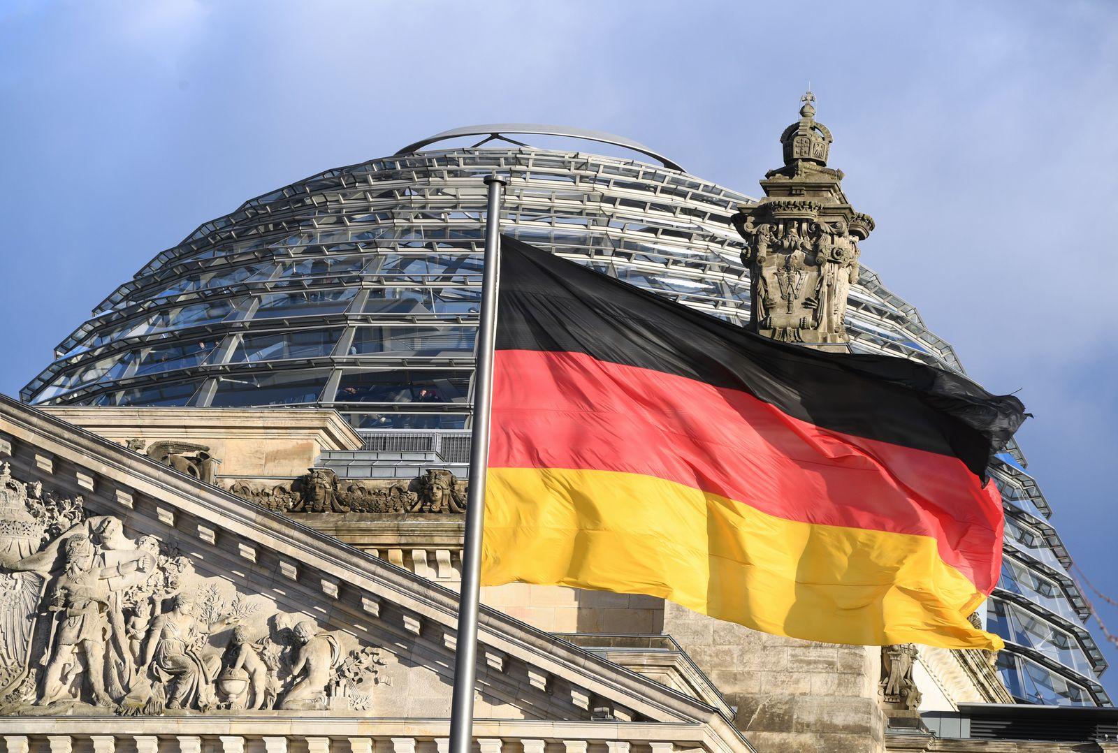Flagge / Reichstag